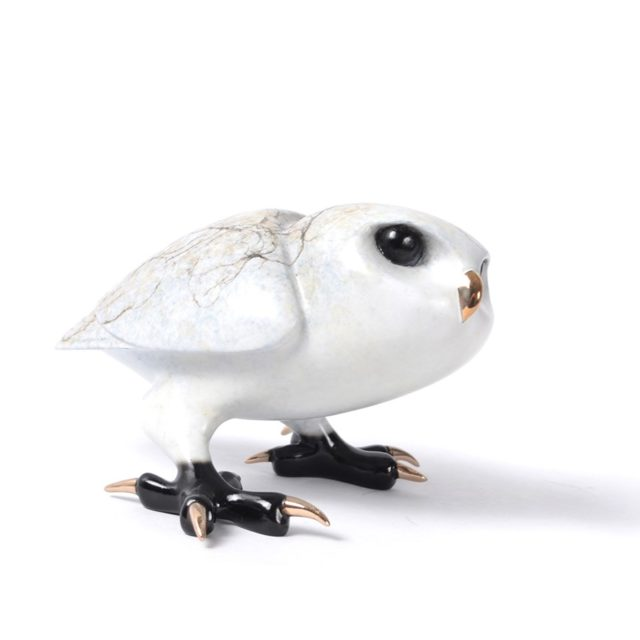 Frogman Bronze Saxon Owl Tim Cotterill
