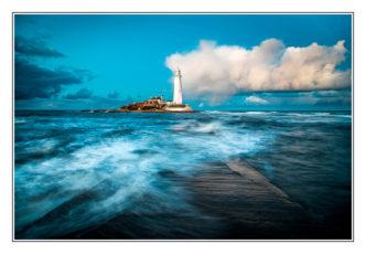 St-Marys-Lighthouse-Blue-Hour Paul Compton Photography