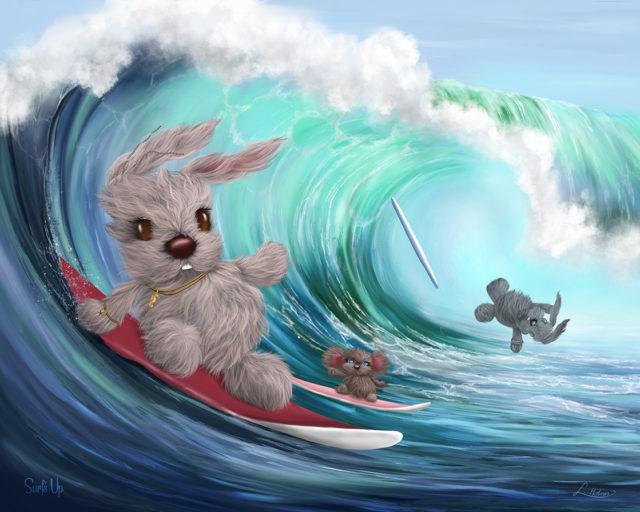 Lisa Holmes Surf's Up