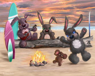 Lisa Holmes The Beach Bunnies