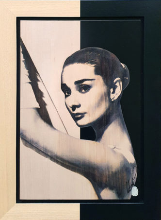 BISH808 Audrey Hepburn OV 1 39 x 58 Rob Bishop