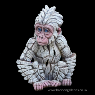 Baby Gorilla Snowflake by Edge Sculpture at Haddon Galleries