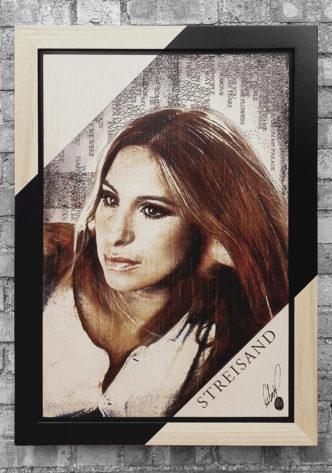 BISH867 Streisand OV1 58 x 86