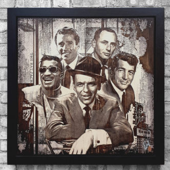 BISH868 The Rat Pack OV1 86 x 86