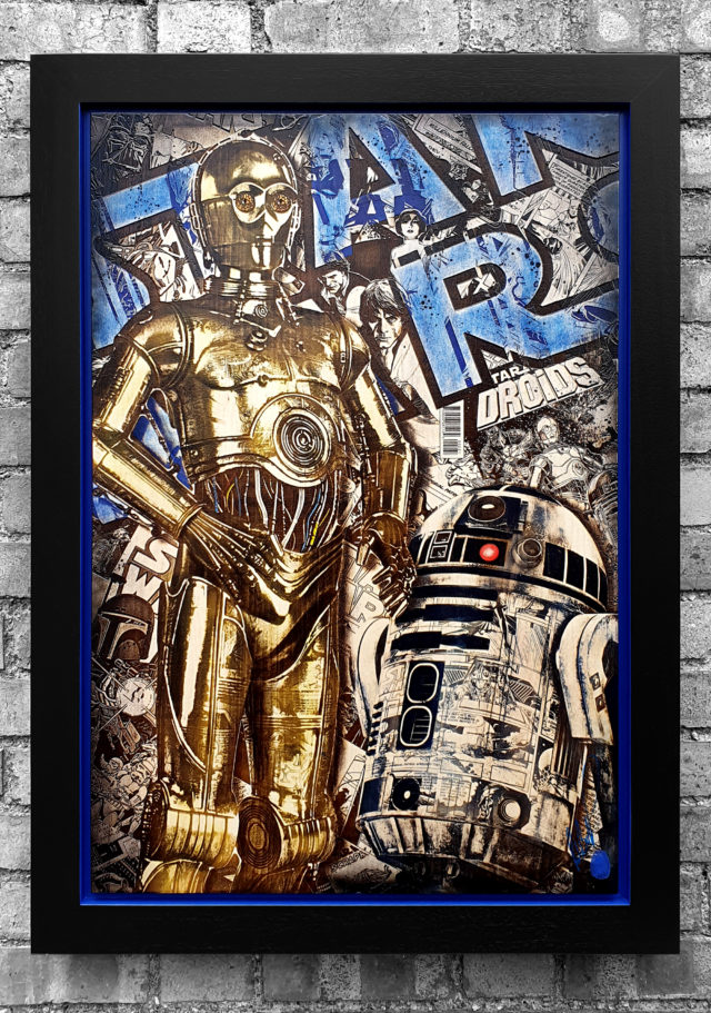 BISH874 Comic On Droids OV2 58 x 86