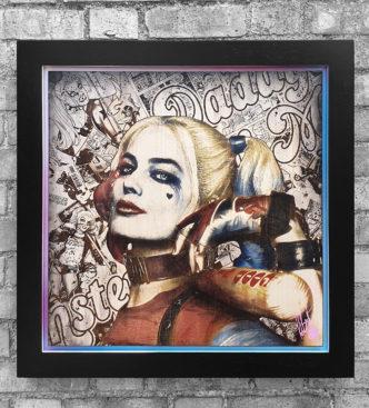BISH875 Harley Quinn OV2 58 x 58