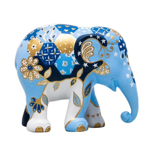 Elephant Parade Patchie Indigo