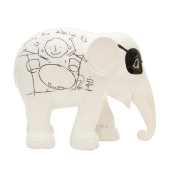 Elephant Parade Elvis by Phil Collins