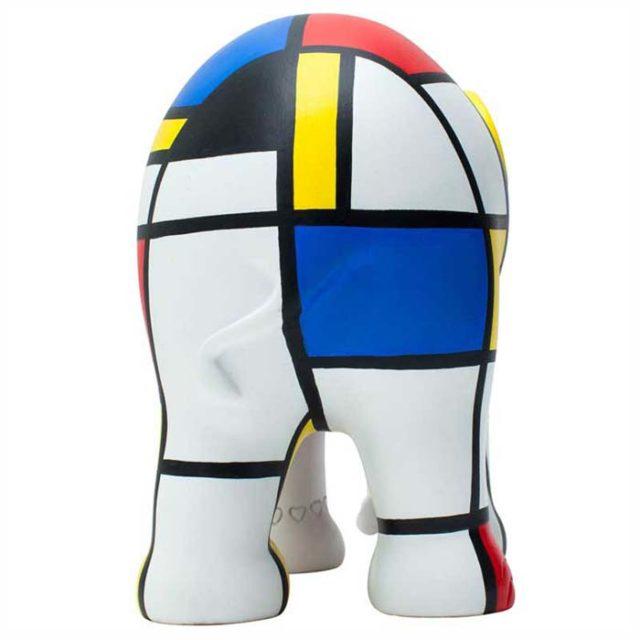 Elephant Parade Hommage to Mondriaan