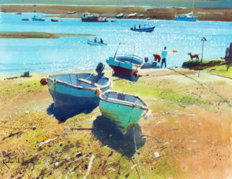 Richard Thorn A Day on the Salty-Teignmouth