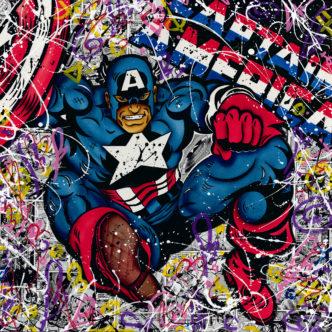 Stephanie Jacques Captain America