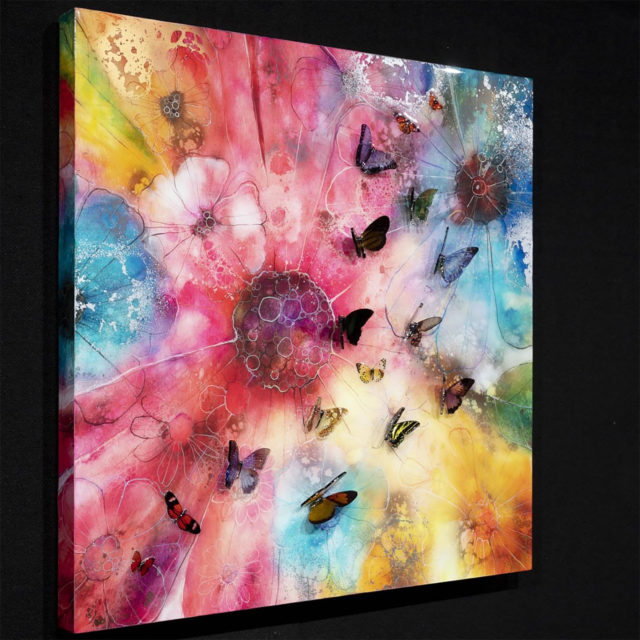 Summer Nector Canvas Kerry Darlington 2