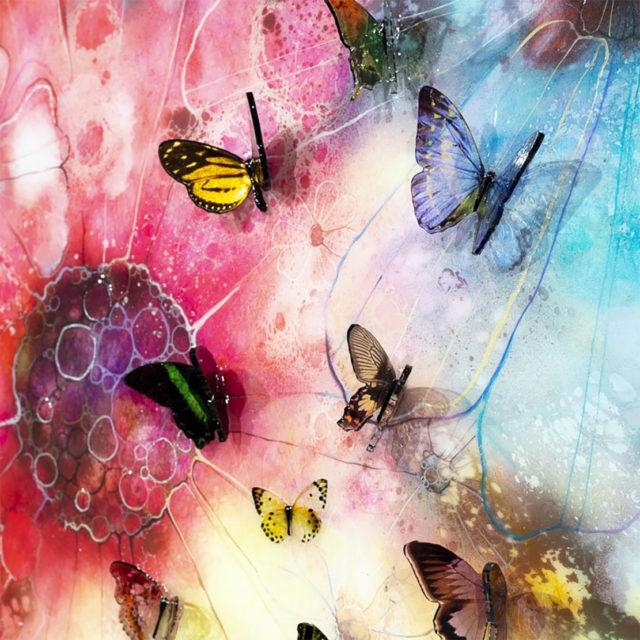 Summer Nector Canvas Kerry Darlington 3