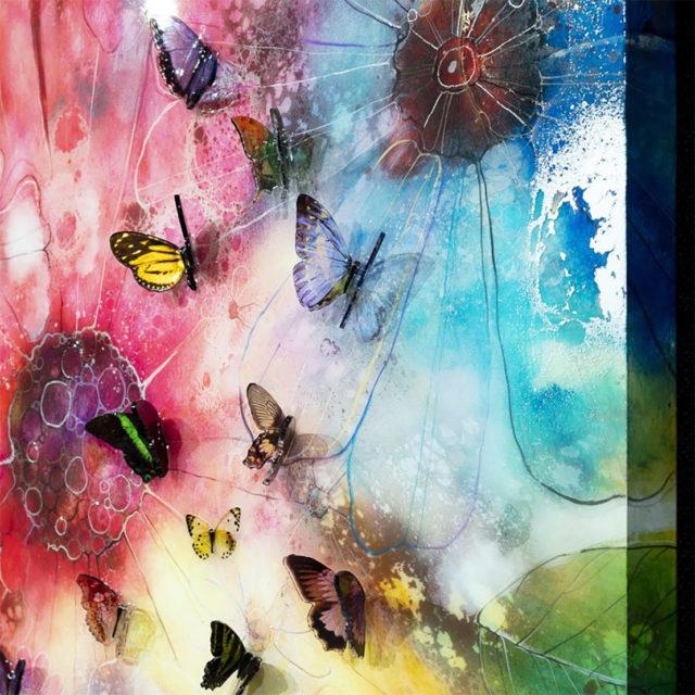 Summer Nector Canvas Kerry Darlington 6