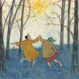 Sam Toft Barefoot in the Bluebells