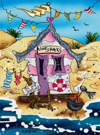 Stephanie Jacques Love Shack Beach Hut